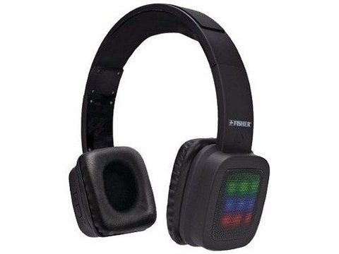 Auricular Inalambrico FISHER Bluetooth M.libres Fisher C/luz Led