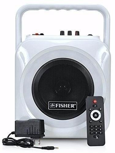 Parlante Fisher Bluetooth 6 Pulg  60 W. - Luces Multicolores - CON AURICULAR HAVIT BLUETOOTH DE REGALO!!!