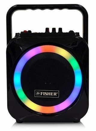 Parlante Fisher Bluetooth 6 Pulg  60 W. - Luces Multicolores - CON AURICULAR HAVIT BLUETOOTH DE REGALO!!! - comprar online