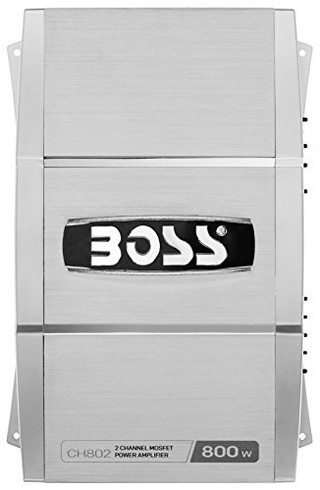 Potencia Boss Audio System 800 Watts! Chaos Ch802 Peak Power - comprar online