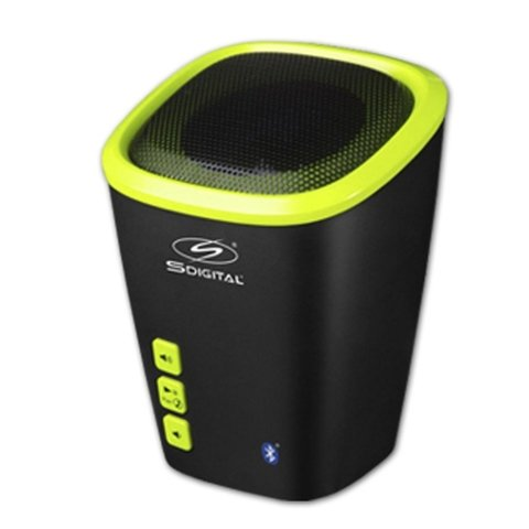 MINI PARLANTE PORTATIL SDigital BEACH SP-1501 BLUETOOTH , LINDO POR FUERA, TECNOLOGIA REAL POR DENTRO