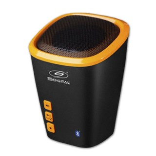 MINI PARLANTE PORTATIL SDigital BEACH SP-1501 BLUETOOTH , LINDO POR FUERA, TECNOLOGIA REAL POR DENTRO - ElectroClase