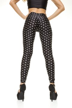 Calza a Lunares-Pin Up Drapeada en la cola efecto Push Up - comprar online