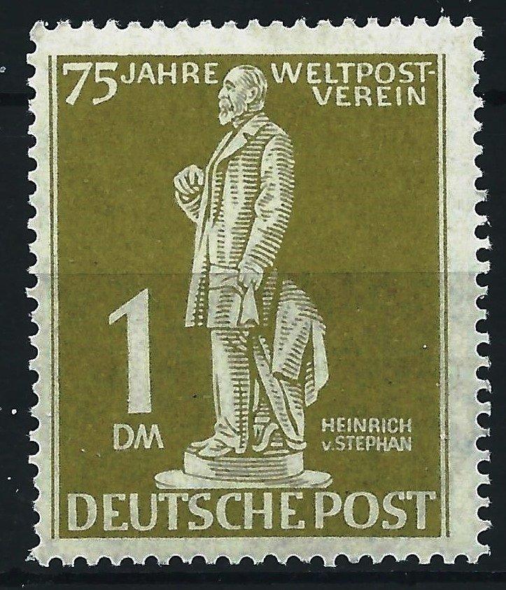 Berlin 1949. 75 aniv. de la UPU 1 DM. MNH