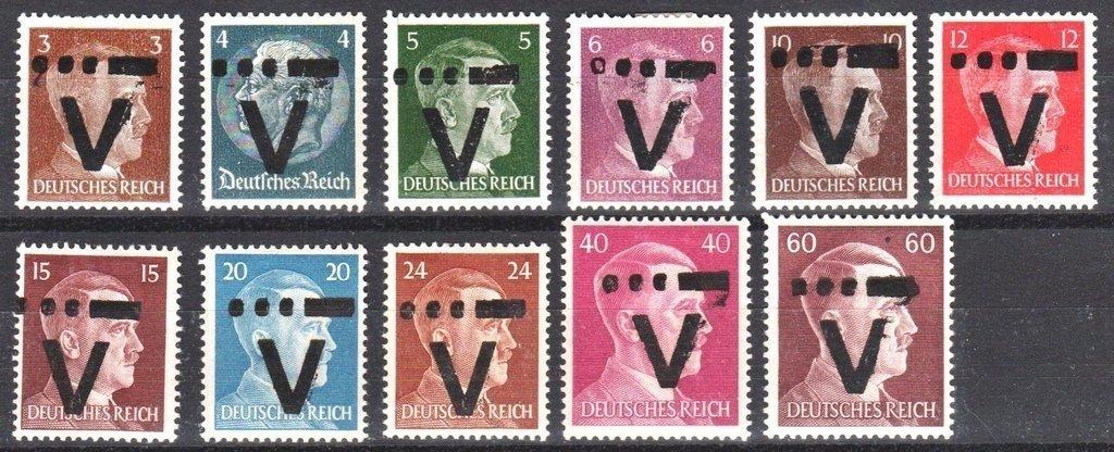 Westerstede 1945. Impresión local. Serie MH. Notable!
