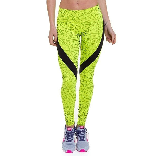 Legging Leaves - Neon
