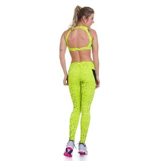 Imagem do Legging Leaves - Neon