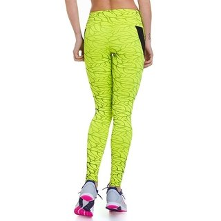 Legging Leaves - Neon - comprar online