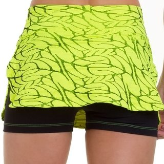 Short Saia Leaves - Neon - comprar online