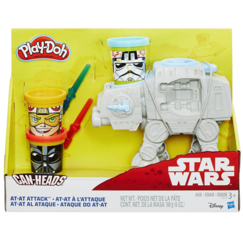 Conjunto Play-Doh Star Wars Ataque At-At - Hasbro