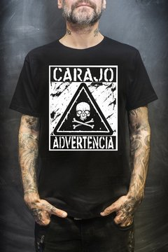 "Remera ""Advertencia""  (PAGÁ EN 3 CUOTAS SIN INTERÉS)"