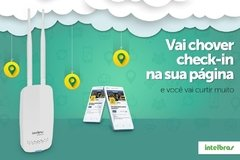 Roteador wireless com check-in no Facebook HotSpot 300 - Intelbras - comprar online
