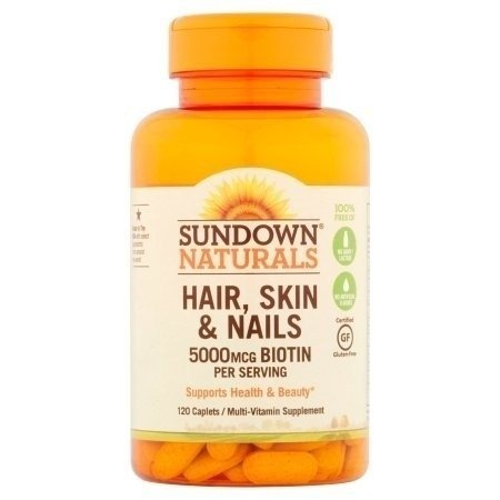 Sundown HAIR SKIN NAILS - 120 caps
