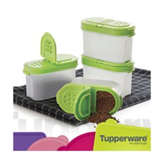 ESPECIERO SET  por CUATRO TUPPERWARE