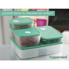 FREEZER TIME SET  COMPLETO -TUPPERWARE