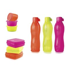 SET ECO TWIST SANDWICHERA y SNACK BOWL TUPPERWARE