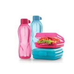 SET  de    ECOTWIST  500  ml  y SANDWICHERA  650   ml   TUPPERWARE - comprar online