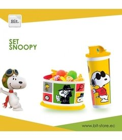 SET SNOOPY  TUPPERWARE