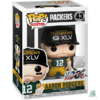 Boneco NFL Aaron Rodgers Green Bay Packers Super Bowl XLV Champions NFL 100 Funko POP Figurine Draft Store