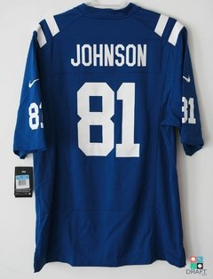 Camisa NFL Indianapolis Colts Andre Johnson Nike Game Jersey Draft Store