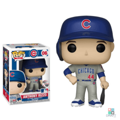 Boneco MLB Anthony Rizzo Chicago Cubs Funko POP Figurine Draft Store