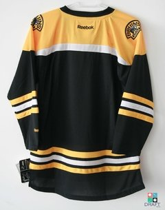 Camisa NHL Boston Bruins Reebok Youth Replica Home Jersey | Black Draft Store