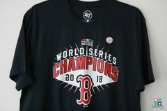 Camisa '47 Brand MLB Boston Red Sox World Series Champ Draft Store