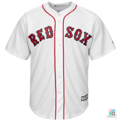 Camisa MLB Boston Red Sox Majestic Coll Base Jersey Draft Store