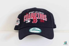 Bone MLB Boston Red Sox New Era 9FORTY Ajustável Draft Store