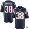Camisa NFL Brandon Bolden New England Patriots Nike Youth Game Jersey Draft Store