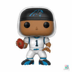 Boneco NFL Cam Newton Carolina Panthers Funko POP Figurine Draft Store