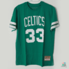 Camisa NBA Boston Celtics Larry Bird Mitchell & Ness Name & Number Verde Draft Store