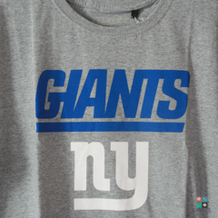 Camisa NFL New York Giants Mitchell & Ness - Cinza Draft Store