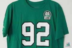 Camisa NFL Philadelphia Eagles Reggie White Mitchell & Ness Name & Number Verde Draft Store