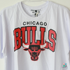 Camisa NBA Chicago Bulls Mitchell & Ness Team - Branca Draft Store