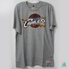 Camisa NBA Cleveland Cavaliers Mitchell & Ness Team - Cinza Draft Store