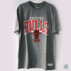 Camisa Mitchell & Ness NBA Chicago Bulls Cinza T-Shirt Draft Store