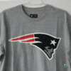 Camisa NFL New England Patriots New Era Cinza T-shirt Draft Store