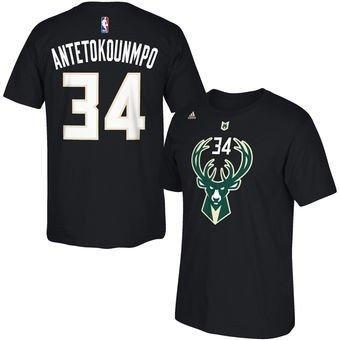 ef421831b Camiseta Adidas NBA Milwaukee Bucks Giannis Antetokounmpo Draft Store
