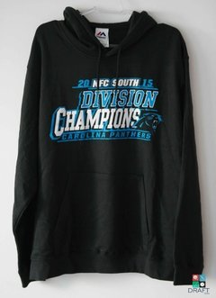 Moletom com Capuz NFL Carolina Panthers NFC South Division Champions Draft Store