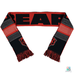 Scarf Forever Collectibles NFL Chicago Bears Reversible Logo (Cachecol) Draft Store