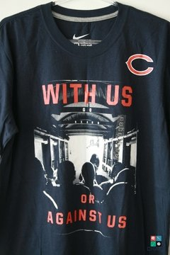 Camisa NFL Nike Chicago Bears With Us T-Shirt Draft Store