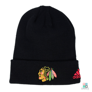 hot sale online e8b70 08923 Gorro NHL Chicago Blackhawks Adidas Basic Cuff