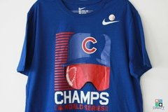 Camisa Nike MLB Chicago Cubs Nike 2016 World Series Champions Draft Store