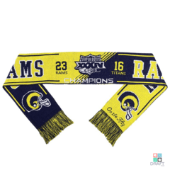 Scarf Forever Collectibles NFL Los Angeles Rams Super Bowl XXXIV (Cachecol) Draft Store