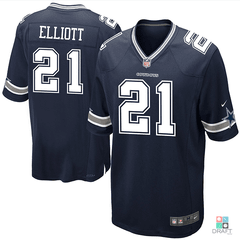 Camisa NFL Dallas Cowboys Ezekiel Elliott Nike Youth Game Jersey Draft Store