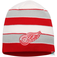 Gorro NHL Detroit Red Wings Reebok Red/Gray Draft Store