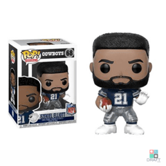 Boneco NFL Ezekiel Elliott Dallas Cowboys Funko POP Figurine Draft Store