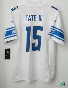 Camisa NFL Golden Tate Detroit Lions Nike Youth Game Jersey Away Draft Store