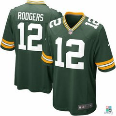 Camisa NFL Aaron Rodgers Green Bay Packers Nike Game Jersey Draft Store
